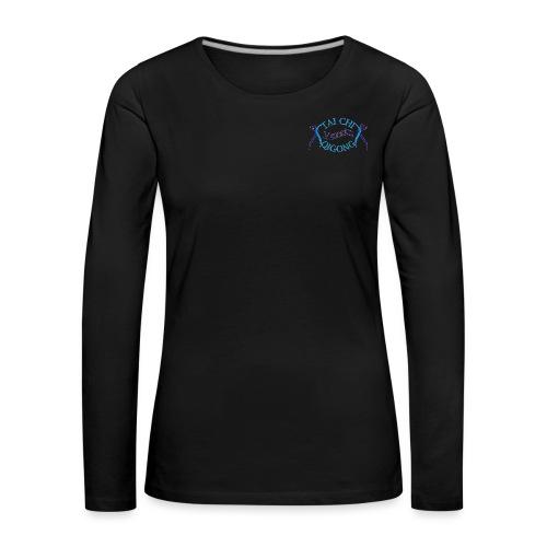 TCuQV m R - Frauen Premium Langarmshirt