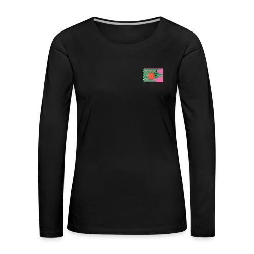 Apple - Frauen Premium Langarmshirt
