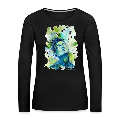Dash by carographic - Frauen Premium Langarmshirt