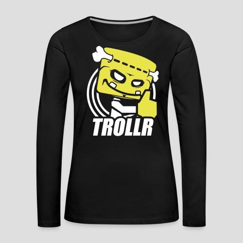 TROLLR Like - T-shirt manches longues Premium Femme