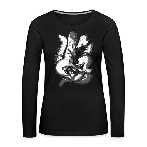 Octopus - Women's Premium Longsleeve Shirt