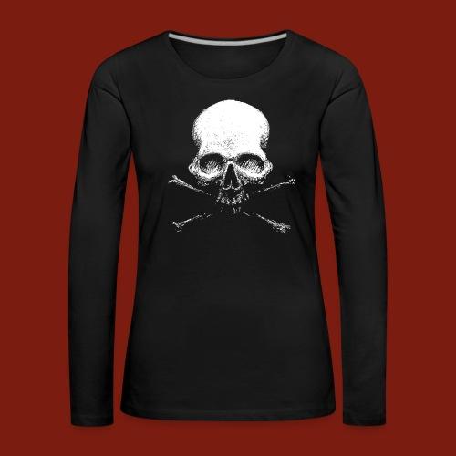 Old Skull - Women's Premium Longsleeve Shirt