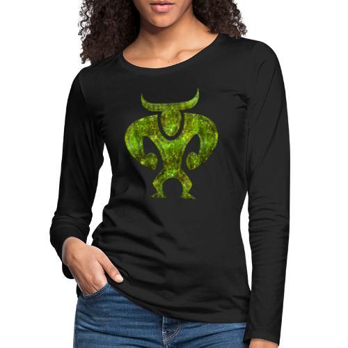 Minotaur - Långärmad premium-T-shirt dam