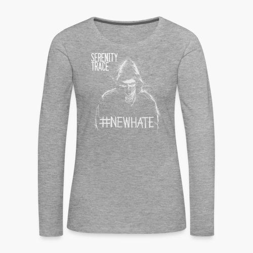 #NewHate Male - Premium langermet T-skjorte for kvinner