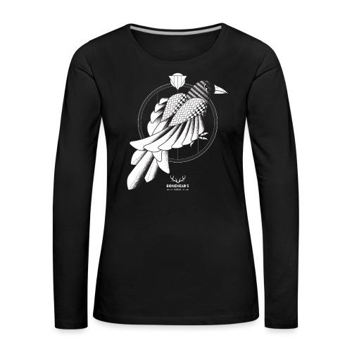 The Crow - Women's Premium Longsleeve Shirt