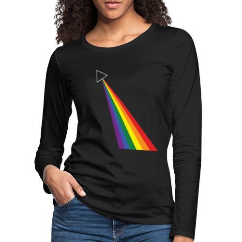 Darkside - Naisten premium pitkähihainen t-paita