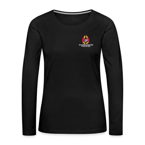EntrenadorPolicial - Camiseta de manga larga premium mujer
