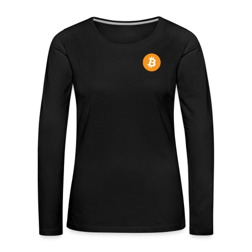 Bitcoin - Women's Premium Longsleeve Shirt