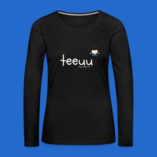 teeuutonywedral girls/boys hoodie - Women's Premium Longsleeve Shirt