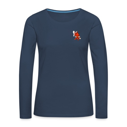 Angry Fish - T-shirt manches longues Premium Femme