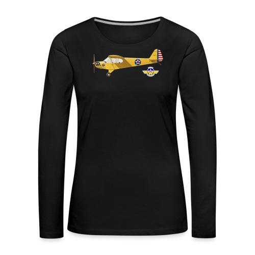 Piper Cub Spirit of Lewis - T-shirt manches longues Premium Femme