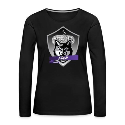 Le logo de la Légion de la Nuit - T-shirt manches longues Premium Femme