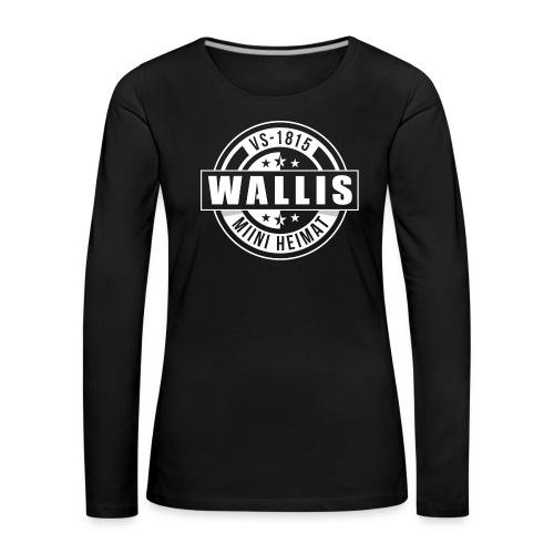 WALLIS - MIINI HEIMAT - Frauen Premium Langarmshirt
