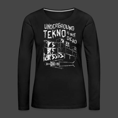 TEKNO SOTTERRANEO NON È MORTO - TEKNO 23 - Maglietta Premium a manica lunga da donna
