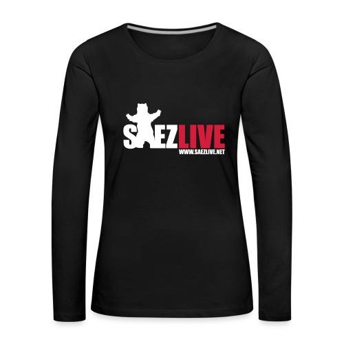 OursLive (version light) - T-shirt manches longues Premium Femme