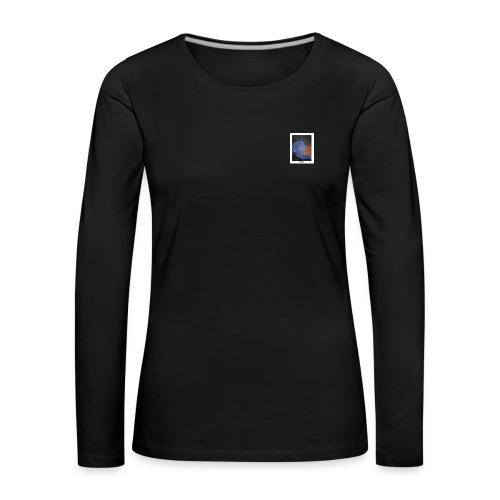Wavy - Frauen Premium Langarmshirt