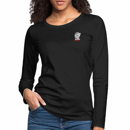 dizruptive zombie - Frauen Premium Langarmshirt