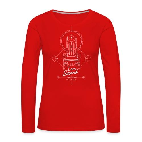 trone_final++ - T-shirt manches longues Premium Femme