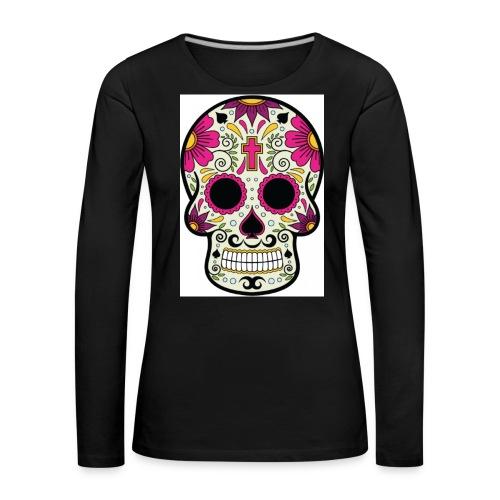 tête messico - T-shirt manches longues Premium Femme