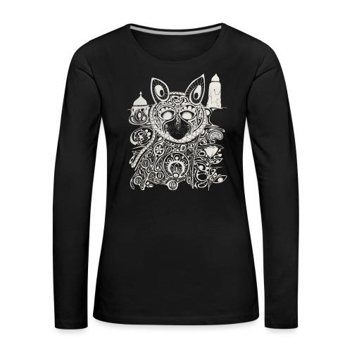 The Heart Is A Golden Fractal - Women's Premium Longsleeve Shirt