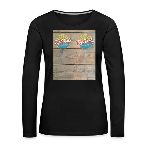 TenSlippers - Vrouwen Premium shirt met lange mouwen