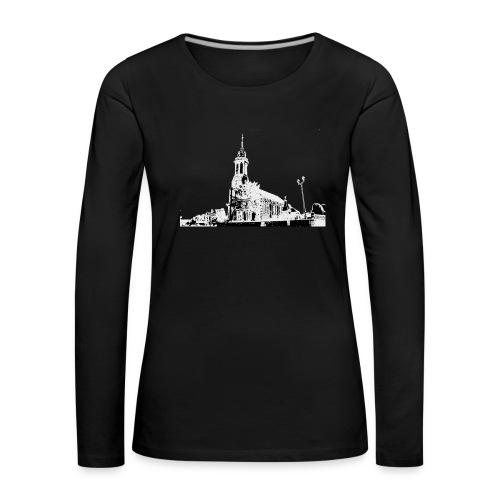 Cours de Pile Eglise 1 De - T-shirt manches longues Premium Femme