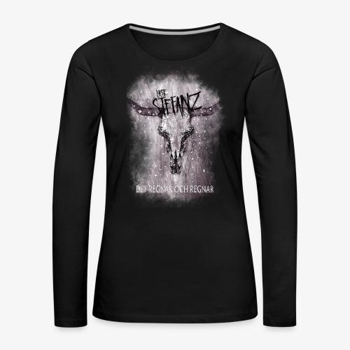 Lasse in Flamez - Långärmad premium-T-shirt dam