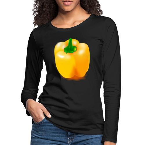 paprika 158476 1280 - Frauen Premium Langarmshirt