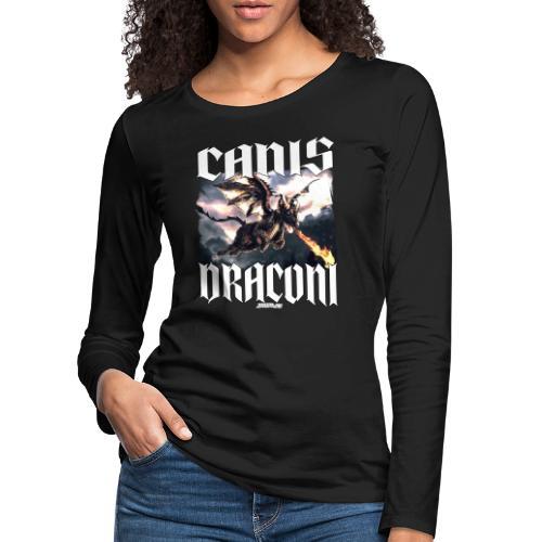 Canis Draconi - Vrouwen Premium shirt met lange mouwen