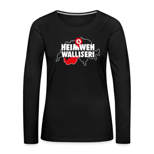 HEIMWEH WALLISERI - Frauen Premium Langarmshirt
