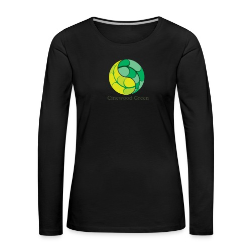 Cinewood Green - Women's Premium Longsleeve Shirt