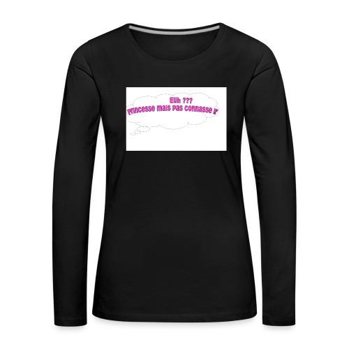 logo tee shirt - T-shirt manches longues Premium Femme