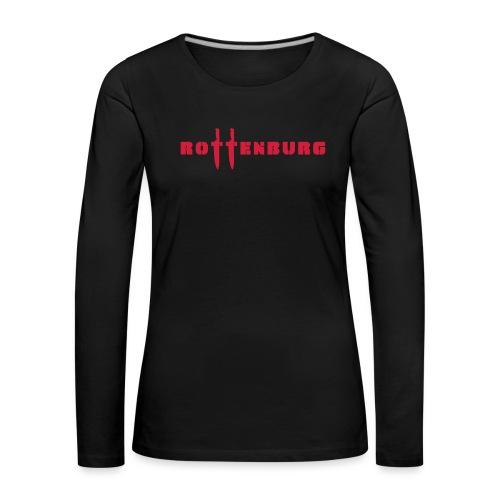 Schriftzug Rottenburg - Frauen Premium Langarmshirt