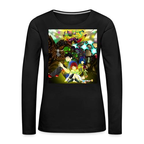WORLD OF WORLDS THE FALL - Camiseta de manga larga premium mujer