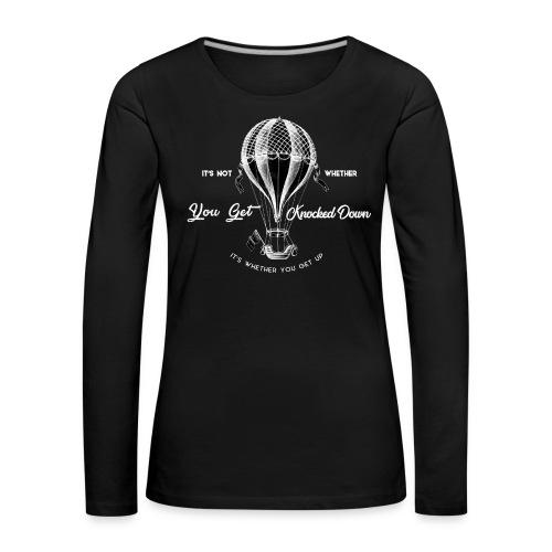 balon1 - Koszulka damska Premium z długim rękawem