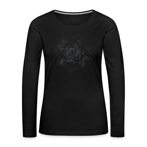 Rosamunda - Långärmad premium-T-shirt dam