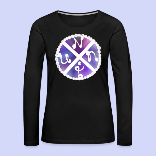 Nuni! cross, NuniDK Collection - Female top - Dame premium T-shirt med lange ærmer