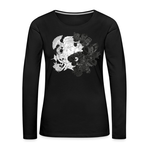 New Yin Old Yang - Women's Premium Longsleeve Shirt
