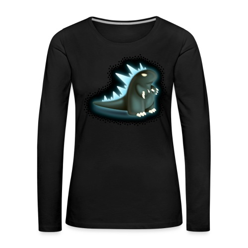 Cartoon Monster King - Women's Premium Longsleeve Shirt