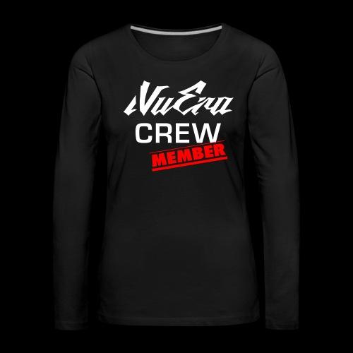 NuEra Crew Logo 2018 - Frauen Premium Langarmshirt