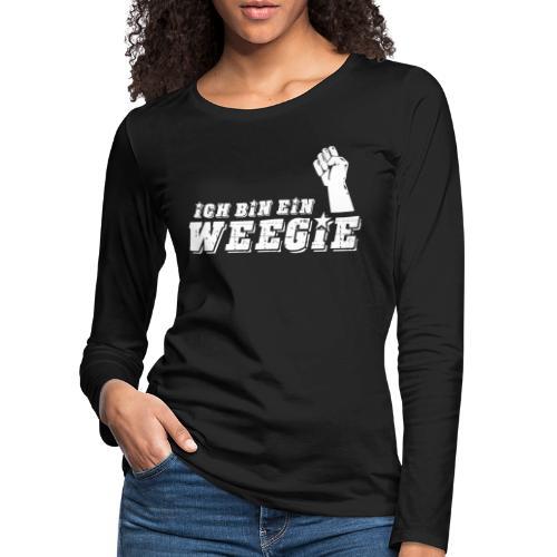Ich Bin Ein Weegie - Women's Premium Longsleeve Shirt