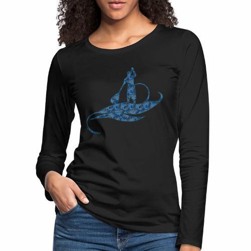 Blue Ocean - T-shirt manches longues Premium Femme