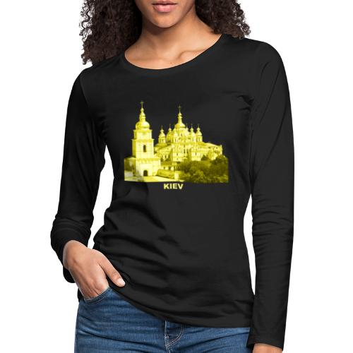 Kiev Kiew Ukraine Sophienkathedrale Kirche - Frauen Premium Langarmshirt