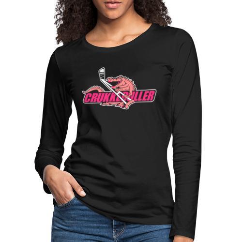 crukkeduller - Dame premium T-shirt med lange ærmer