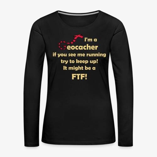 FTF-Jäger - Frauen Premium Langarmshirt