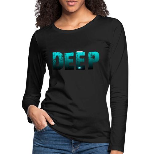 Deep In the Night - Maglietta Premium a manica lunga da donna