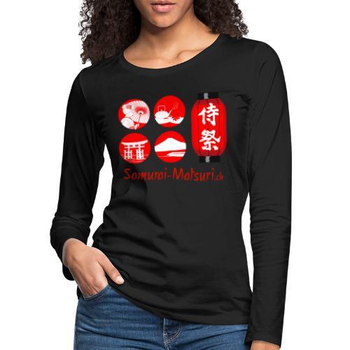 Samurai Matsuri Festival - Frauen Premium Langarmshirt