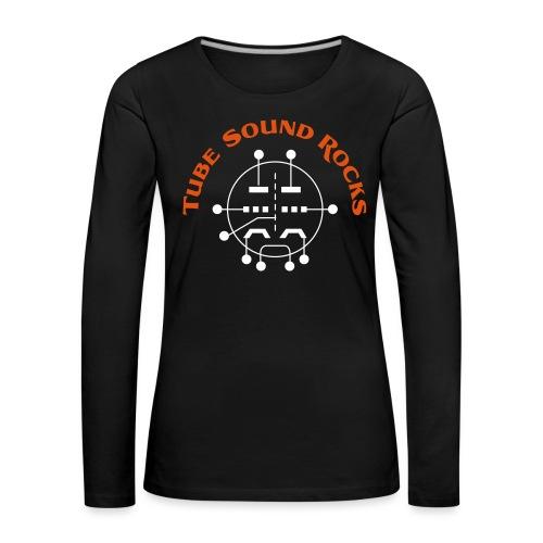 ECC88 - Tube Sound Rocks - Frauen Premium Langarmshirt