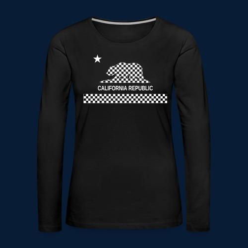 California Republic - Frauen Premium Langarmshirt