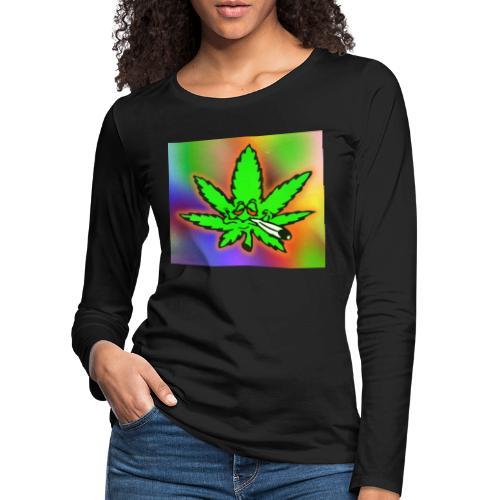 best weed - Naisten premium pitkähihainen t-paita